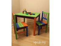 Children's Play Table & Chairs Set