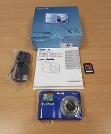Fuji Finepix AV200 Digital Camera unused in box. Free delivery.