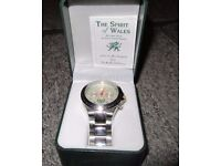 THE SPIRIT OF WALES watch ( never been worn) issue #3997/4999 LIMITED EDITION