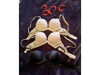 Ladies 30C bras