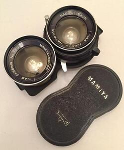Mamiya-Sekor 55mm f4.5 for C220 C330 and other mint with 90 days warranty