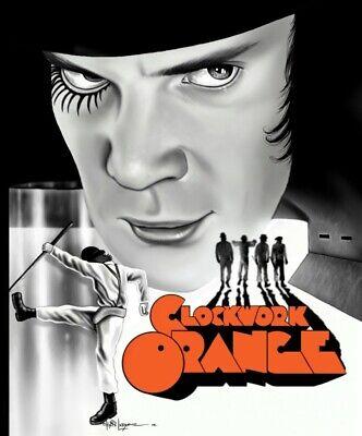 A Clockwork Orange Movie Poster Print Art 8x10 11x17 16x20 22x28 24x36 27x40