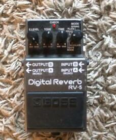 BOSS Digital Reverb RV-5