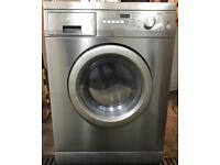 //(%)\ 5KG SMEG SILVER WASHER DRYER INCLUDES 6 MONTHS GUARANTEE