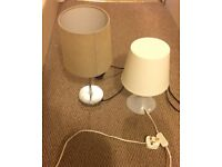 Bedside Lamps (2 or separately)
