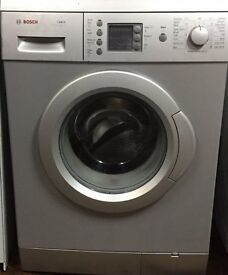 Bosch WAE2446S 6kg 1200 Spin Silver LCD A Rated Washing Machine 1 YEAR GUARANTEE FREE FITTING