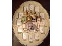 Baby Photo Frame 13 spaces As New