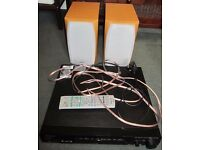 Pioneer VSX-C301 5.1 40 Watt Receiver + Sony SS-CSD1 High Quality Speakers