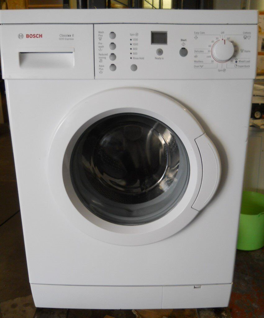 Bosch Classixx6 1200 spin (variable) 7kg load, New Bearings Door Seal AA  rated