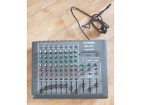 8 into 2 channels audio mixer