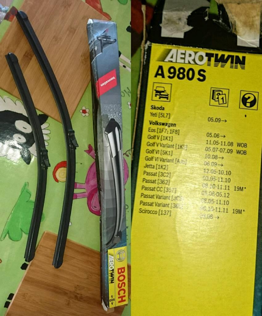 Bosch A980S windscreen wiper blades