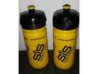 TWO new science in sport water bottles.