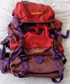 Karrimor 'Discovery KST 75' Large Backpacking Rucksack - Great Condition