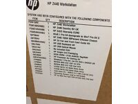 HP Z440 workstation 32GB DDR4 RAM 2x512GB SSD Brand New