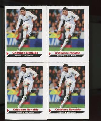 2012 Sports Illustrated Kids Cristiano Ronaldo Lot Of 4