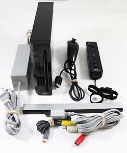 *****CONSOLE NINTENDO WII NOIR A VENDRE / BLACK NINTENDO WII SYSTEM FOR SALE*****