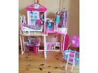 Complete Barbie My Style Home Set