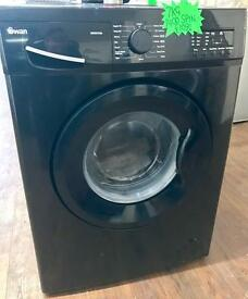 BRAND NEW 7KG 1400 SPIN WASHING MACHINE IN BLACK BARGAIN ...!!!