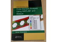 Introduction to Finite Element Analysis Using MATLAB® and Abaqus (Hardcover)