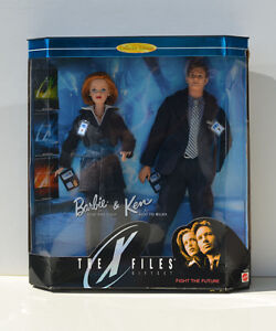 MINT X-FILES Barbie & Ken COLLECTOR EDITION Collectibles NFRB