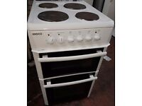 Beko D533 Electric COOKER, 50 cm wide, white color