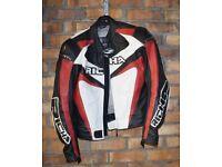 Richa Leather Motor Cycle Jacket UK Size 40