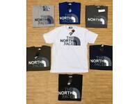 The North Face t-shirts S,M,L,XL, XXL