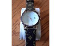 Men's Louis Vuitton Diamond Watch
