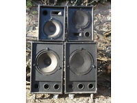 Fane speakers for sale (for PA system)