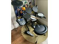 Roland TD-6V Electronic V-Drum Kit Comes With Mapex Chair And Sticks And More