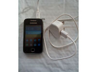 Samsung Galaxy Y S5360 Smart Phone & Charger