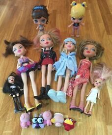 Bratz Doll Collection with Clothes