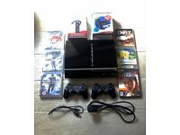 Sony PlayStation 3 40GB - Move Starter Pack - Wireless Headset - 6 Games