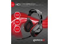 Gioteck HC3 Stereo Gaming Headset & Mic PS3 PS4 XBox ONE 360 PC Wired Headphones