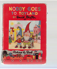 Noddy Goes To Toyland By Enid Blyton. #1 Pictures By Beek 1949 Free UK p+p!