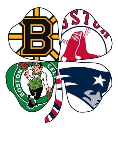 Home Decoration - Boston Sports Shamrock Sticker