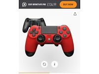 **LIKE NEW** Scuf Infinity 4PS Pro Controller (Red)