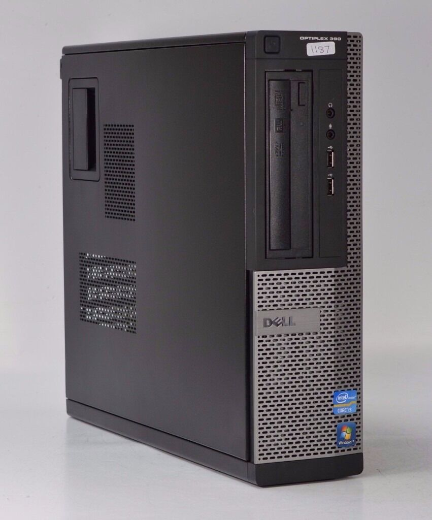 WINDOWS 7 DELL OPTIPLEX 390 INTEL CORE i3 - TOWER PC COMPUTER - 4GB RAM - 500GB