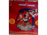 Disney Dixieland Animated Telephone