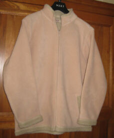Women's warm fleece jacket – size 14/16