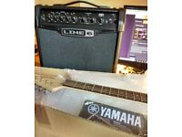 50% discount on MINT Guitar Kit: Yamaha Pacifica 012 Electric Gutiar + Line 6 15W Modeling Amp