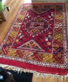 Handmade woollen carpet