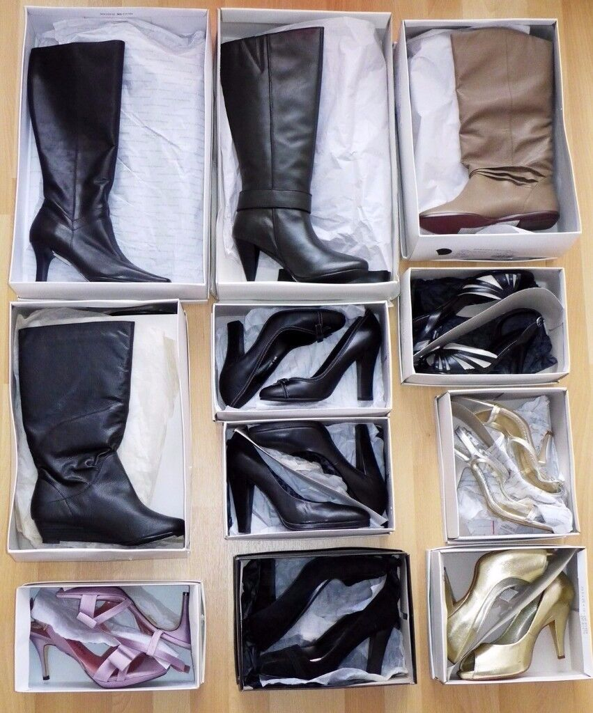 11 pairs Dorothy Perkins boots & shoes size 5 - may deliver for free
