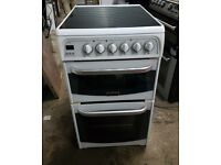 6 MONTHS WARRANTY Cannon 50cm, double oven electric cooker FREE DELIVERY