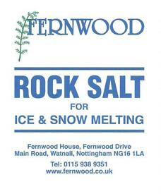 Rock Salt Grit - @ £2.00 per bag