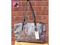 RADLEY 'On the Dot' Large Oilskin tote bag - NEW - RRP: £109
