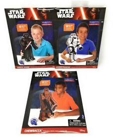 JOB LOT Star Wars 12 Inch STORMTROOPER, CHEWBACCA & DARTH VADER Papercraft - NEW