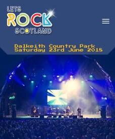 Let's Rock Scotland Tickets