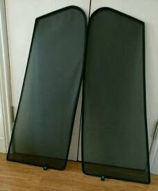 Vauxhall Astra 04-12 privacy screen for rear doors window