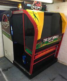 SEGA Arcade Machine - Deluxe Cabinet - The Lost World Jurassic Park + HofD Trilogy